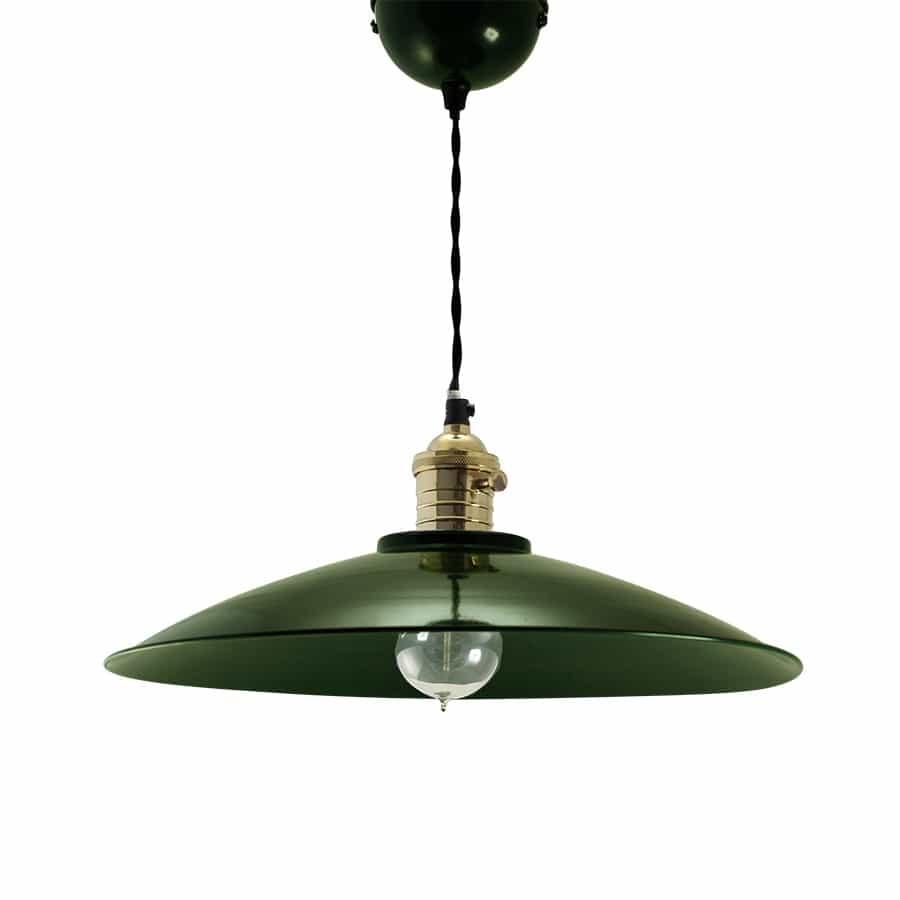 Taklampe Sigge Mørkgrønn Stor | Jettestuen.no Nytt