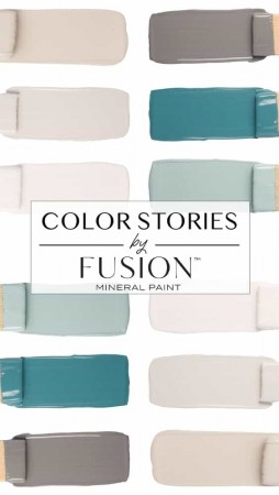 Fusion Mineral Paint Fargehistorier April 2019